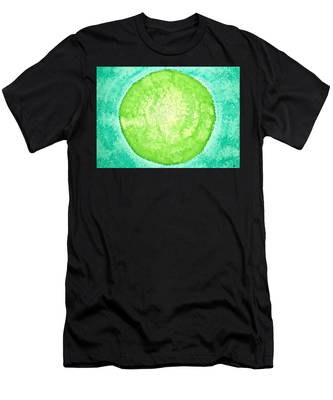Green World Original Painting Men's T-Shirt (Athletic Fit)