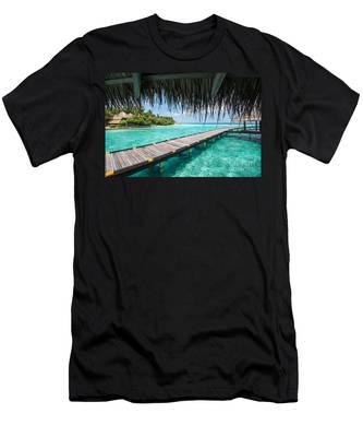 Heavenly View Men's T-Shirt (Athletic Fit)