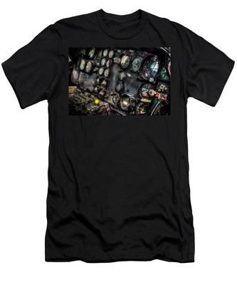 Huey Instrument Panel 2 Men's T-Shirt (Athletic Fit)