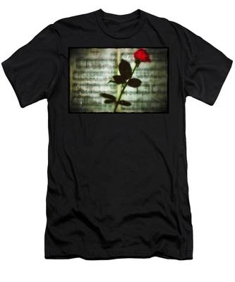 Men's T-Shirt (Athletic Fit) featuring the photograph In My Life by Bill Cannon