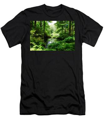 In The Stillness Men's T-Shirt (Athletic Fit)