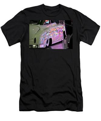 Kustom Neon Reflections Men's T-Shirt (Athletic Fit)