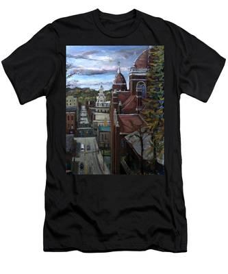 La025 Men's T-Shirt (Athletic Fit)