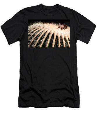 Large Cactus Ball Men's T-Shirt (Athletic Fit)
