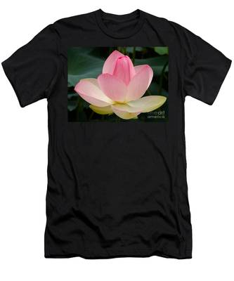 Lotus In Bloom Men's T-Shirt (Athletic Fit)