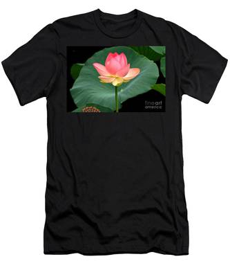 Lotus Of Late August Men's T-Shirt (Athletic Fit)