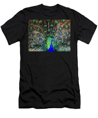 Majestic Blue Men's T-Shirt (Athletic Fit)
