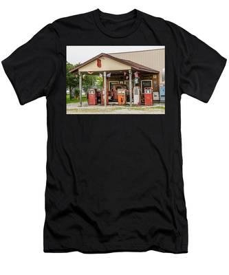 Memories Of Route 66 Men's T-Shirt (Athletic Fit)