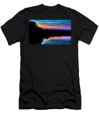 Nature's Rainbow Men's T-Shirt (Athletic Fit)