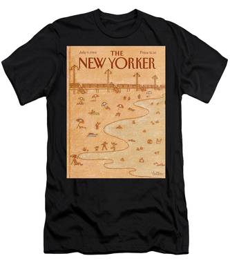 New Yorker July 9th, 1984 Men's T-Shirt (Athletic Fit)