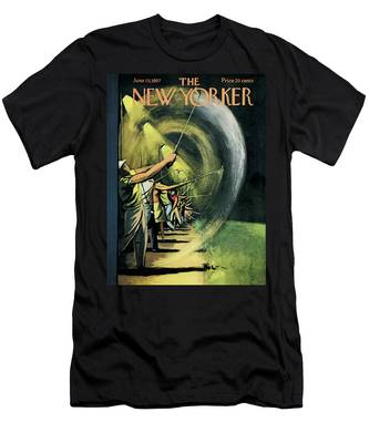 New Yorker June 15th, 1957 Men's T-Shirt (Athletic Fit)