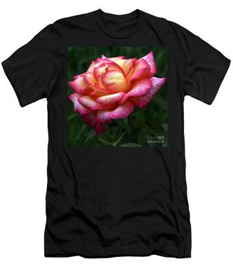 Passionate Shades Of A Perfect Rose Men's T-Shirt (Athletic Fit)