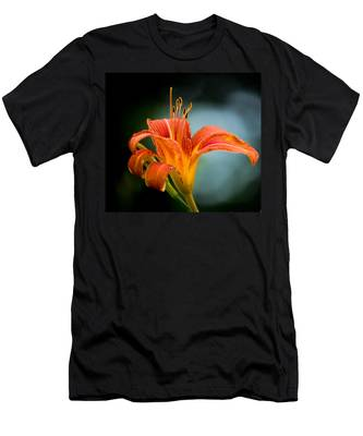 Pretty Flower Men's T-Shirt (Athletic Fit)