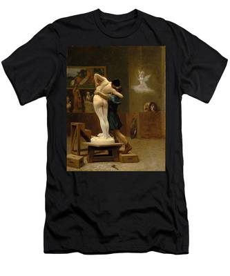 Pygmalion And Galatea Men's T-Shirt (Athletic Fit)