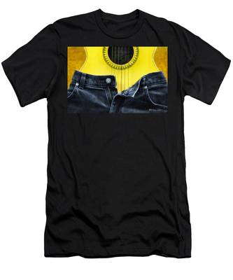 Men's T-Shirt (Athletic Fit) featuring the photograph Rock And Roll Woman by Bill Cannon