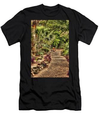 Rocks On Road Men's T-Shirt (Athletic Fit)