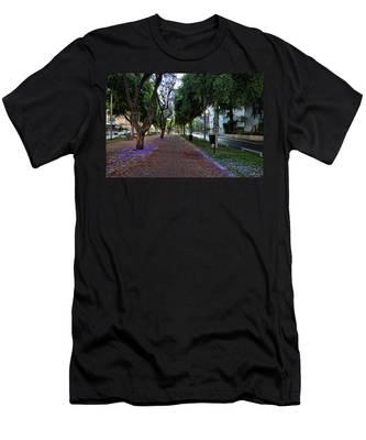 Rothschild Boulevard Men's T-Shirt (Athletic Fit)