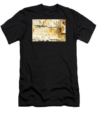 Rust And Peeling Paint Men's T-Shirt (Athletic Fit)
