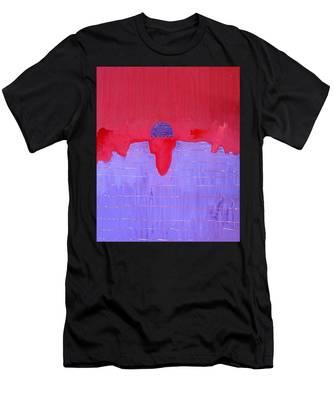 South Rim Sun Original Painting Men's T-Shirt (Athletic Fit)