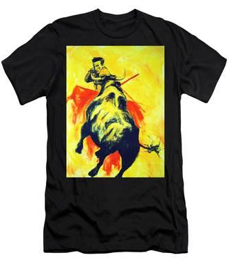 Spanish Bullfight Men's T-Shirt (Athletic Fit)