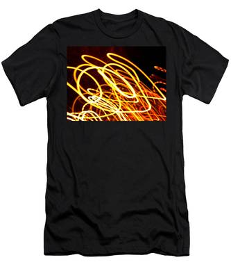 Spiral Light Among Dwellers About The City 2 Men's T-Shirt (Athletic Fit)