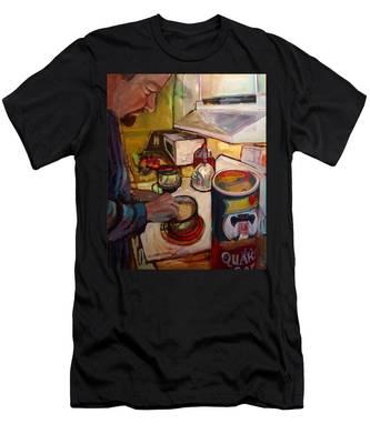 St014 Men's T-Shirt (Athletic Fit)