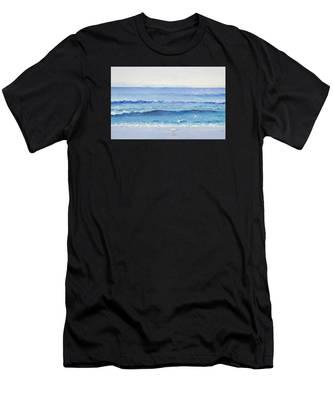 Summer Seascape Men's T-Shirt (Athletic Fit)