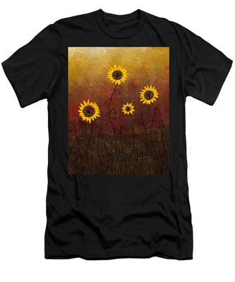 Sunflowers 3 Men's T-Shirt (Athletic Fit)