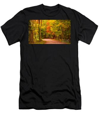Take Me To The Forest Men's T-Shirt (Athletic Fit)