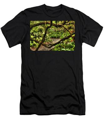 Tangled Path Men's T-Shirt (Athletic Fit)