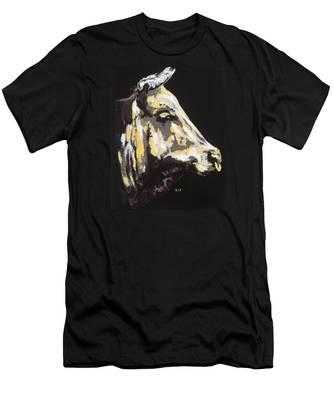Texas Longhorn Profile Men's T-Shirt (Athletic Fit)