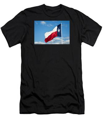 State Flag Of Texas Men's T-Shirt (Athletic Fit)