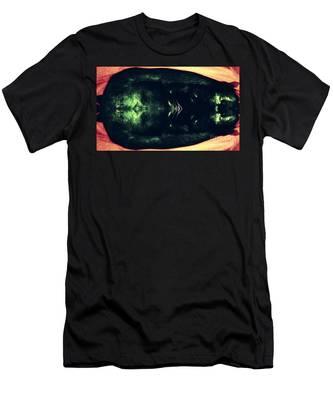 The Black Cat Men's T-Shirt (Athletic Fit)