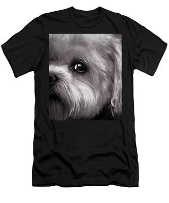 The Dog Next Door Men's T-Shirt (Athletic Fit)