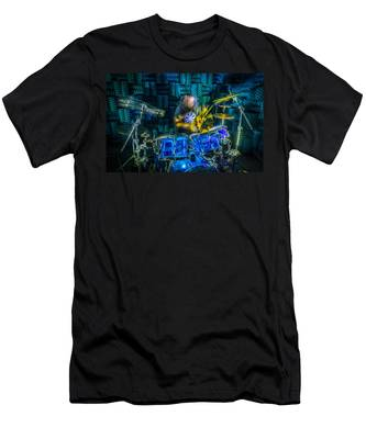 The Drummer Men's T-Shirt (Athletic Fit)