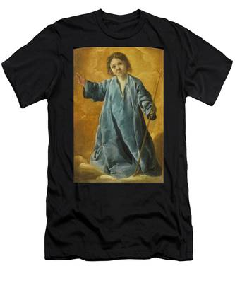 The Infant Christ Men's T-Shirt (Athletic Fit)