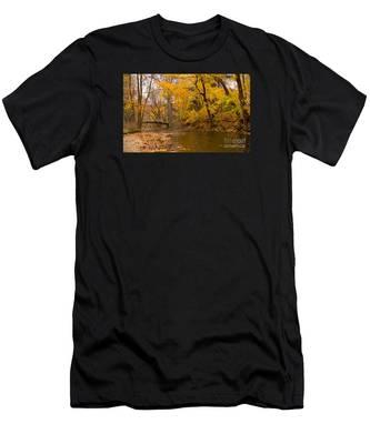 The Little Bridge Over Valley Creek Men's T-Shirt (Athletic Fit)