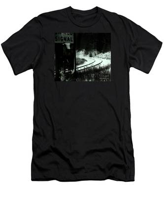 The Rail To Anywhere Men's T-Shirt (Athletic Fit)
