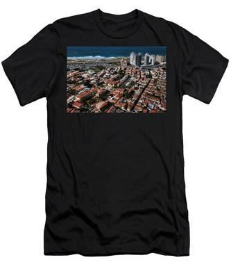 the Tel Aviv charm Men's T-Shirt (Athletic Fit)