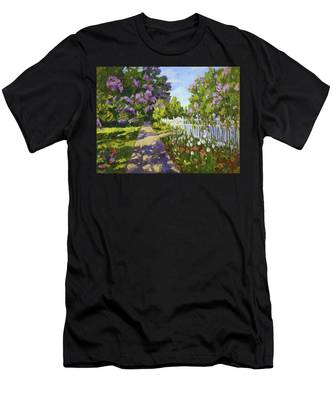 The White Fence Men's T-Shirt (Athletic Fit)