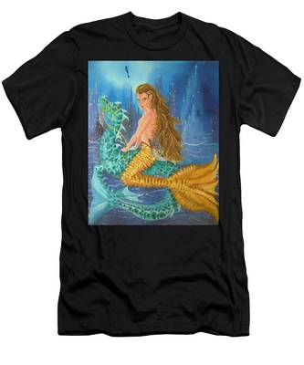 Tiger Lily Tails Men's T-Shirt (Athletic Fit)