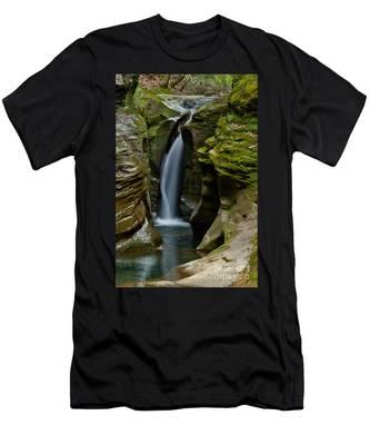 Un-named Falls Men's T-Shirt (Athletic Fit)