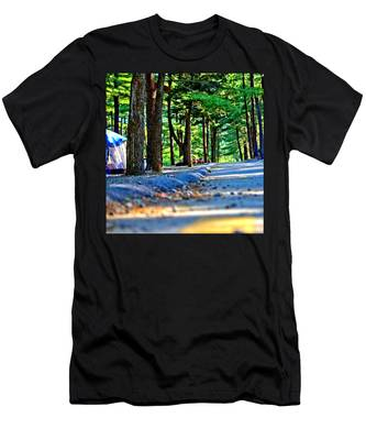 Unknown Destination Men's T-Shirt (Athletic Fit)