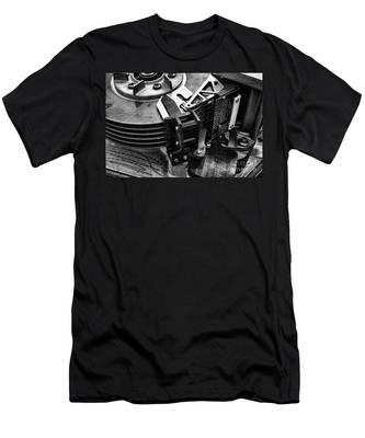 Vintage Hard Drive Men's T-Shirt (Athletic Fit)