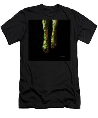 Walking In Clover Men's T-Shirt (Athletic Fit)