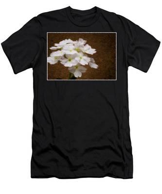 Watercolor Of Daisies Men's T-Shirt (Athletic Fit)