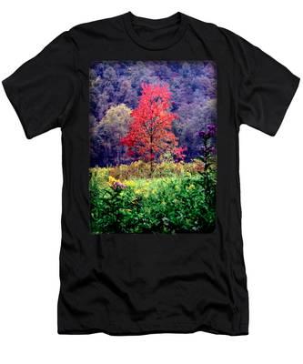 Wildwood Flowers Men's T-Shirt (Athletic Fit)