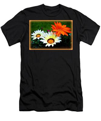 Garden Daisies Men's T-Shirt (Athletic Fit)