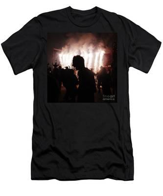 Spark Backlighting Men's T-Shirt (Athletic Fit)