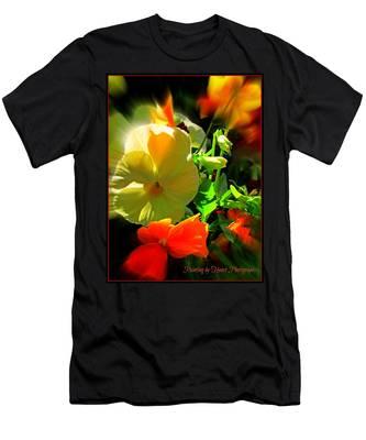 Summer Bloom Men's T-Shirt (Athletic Fit)